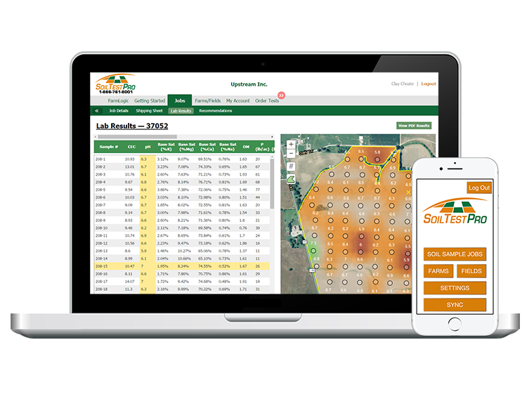 Soil Test Pro - Precision Soil Sampling Mobile App